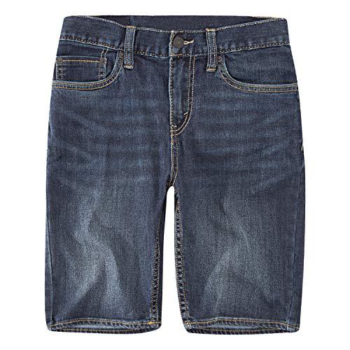 Levi's Boys' Big 511 Slim Fit Performance Shorts, Resilient Blue, 18