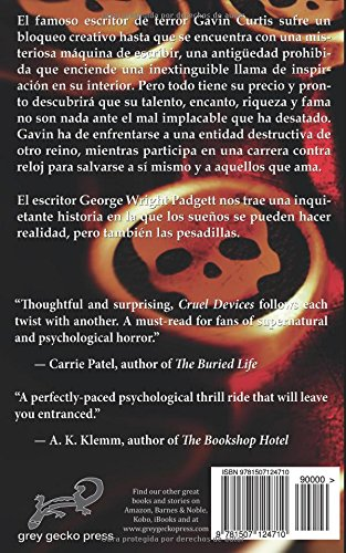 Artefactos crueles (Spanish Edition): George Wright Padgett, Irma Pérez González: 9781507124710: Amazon.com: Books