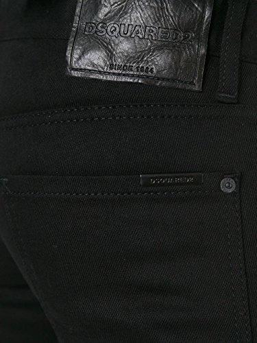 Dsquared2 Homme S74LB0150S30564900 Noir Coton Jeans