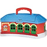Take Along Thomas & Friends Work & Play Engine Shed Playset