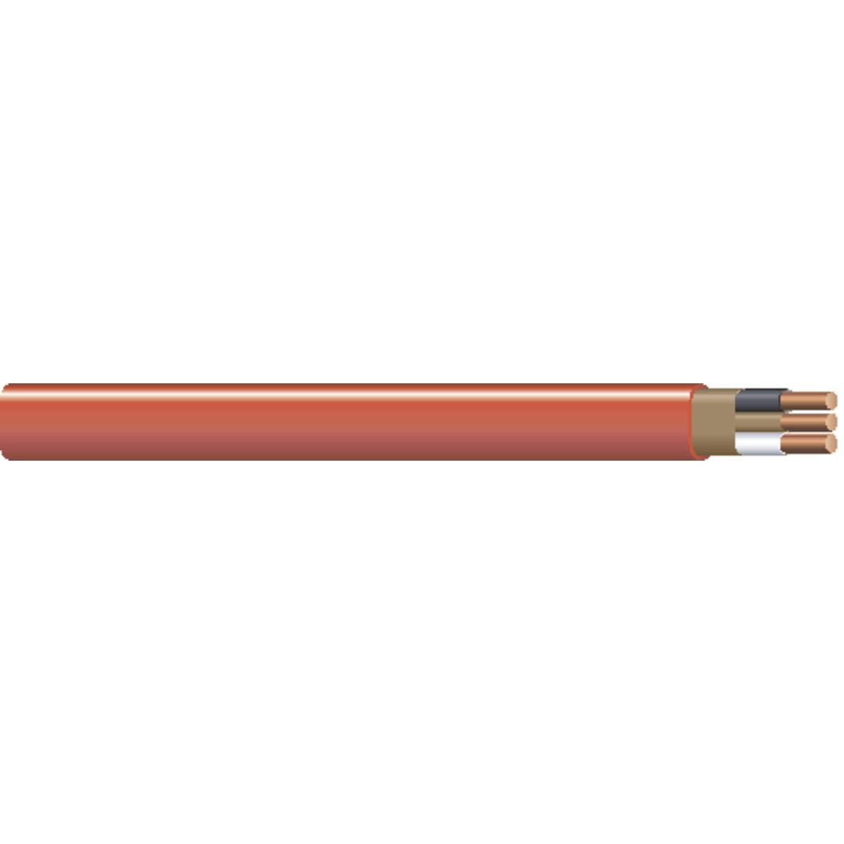 10/2 NM-B, Non-Mettallic, Sheathed Cable, Residential Indoor Wire, Equivalent to Romex (100FT Cut)