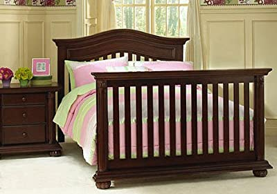 Full Size Conversion Kit Bed Rails for Baby Cache Heritage Cribs - Cherry