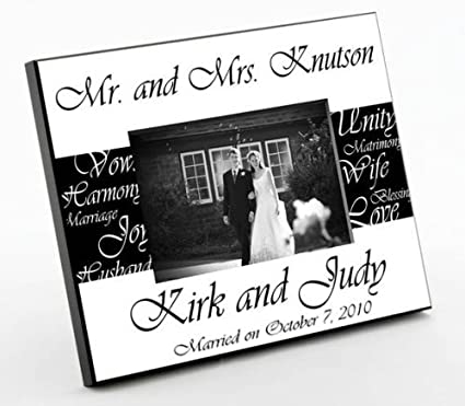 Amazon.com - Creative Structures Personalized Gift - Mr. & Mrs ...