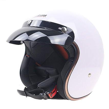 AEMAX, Certificación Dot, Casco De Moto, Clásico, Retro, Casco De Moto