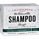J. R. Liggett Jojoba and Peppermint Shampoo Bar (3 Pack)
