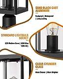 Beionxii Outdoor Post Lantern | Set of 2 Modern