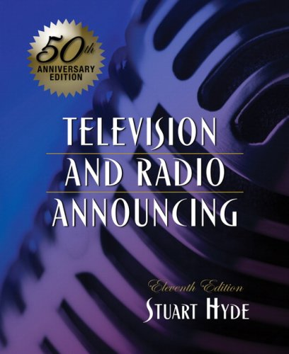 Television and Radio Announcing (11th Edition) by Pearson