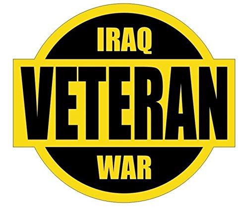 1 Set Extraordinary Unique Iraq War Veteran Window Sticker Laptop Luggage Wall Graphics Marines Navy Hard Hat Decor Vinyl Art Stickers Patches Decals Size 2