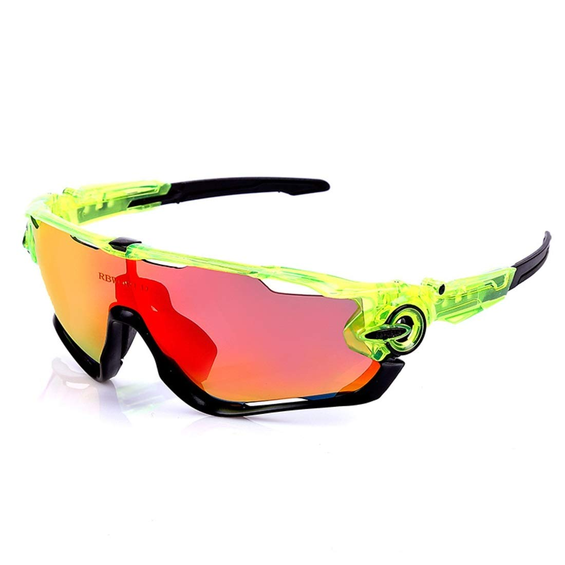 BAOYIT Outdoor Sports Glasses Fishing Windproof Bicycle Mountain Bike Sunglasses Men and Women Goggles Riding Glasses (Color : A) by BAOYIT
