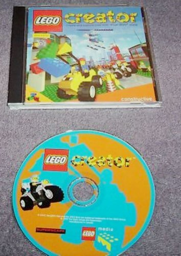 Lego Creator Cdrom Create Your Own Virtual Lego World