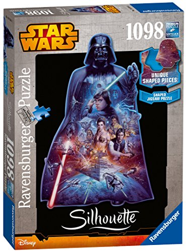 Ravensburger Star Wars Darth Vader Silhouette Jigsaw Puzzle (1098-piece)