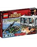 LEGO Super Heroes 76007 - Iron Man, Attacco alla Residenza di Mandarin