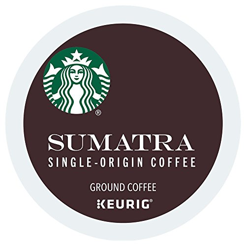 Starbucks Sumatra single serve K-Cup pods for Keurig brewers, 24 Count