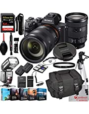 $3699 » Sony Alpha a7R III Mirrorless Digital Camera with 24-105mm Lens Bundle + Extreme Speed 64GB Memory (24 Items)
