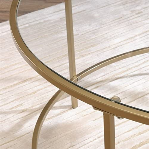 Pemberly Row Round Coffee Table