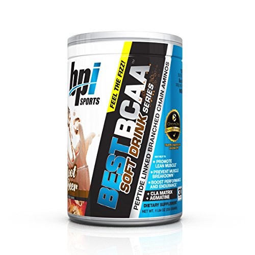 BPI Sports Best BCAA Soft Drink Series Powder, Branched Chain Amino Acids, Root Beer, 30 Servings, 11.64 Ounce