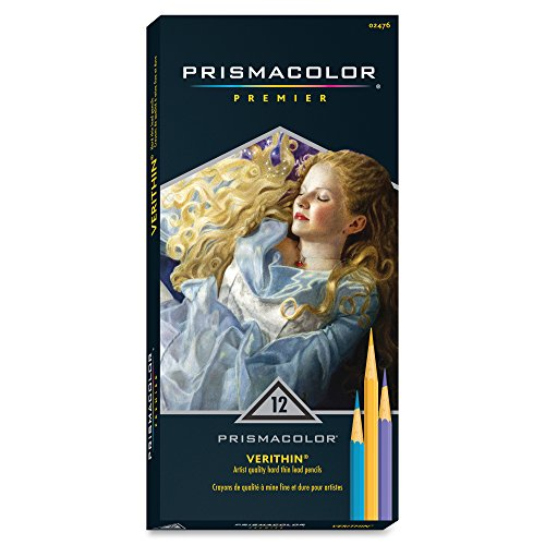 Sanford Prismacolor Verithin Colored Pencils, Assorted Color