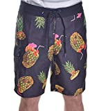 Best Van'an Mens Swimwear - Vans Mens Drained And Confused Board Shorts-Black/Multi-30 Review