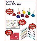 KidsPlay 8 Note Handbell Set Value Package