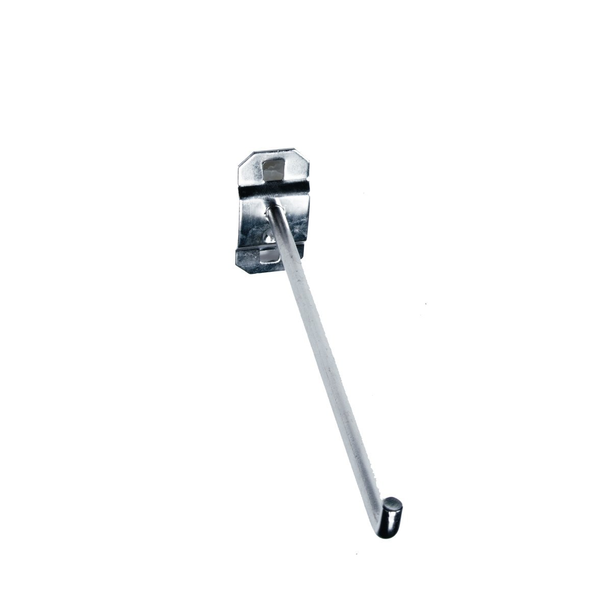 3-Pack Triton Products 61629 Stainless Steel LocHook 6-Inch Single Rod 90-Degree Bend 1//4-Inch Dia Pegboard Hook for Stainless Steel LocBoard