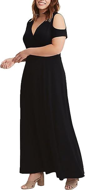 Vestidos Largos De Verano Mujer para Gorda Vacaciones de Elegantes ...