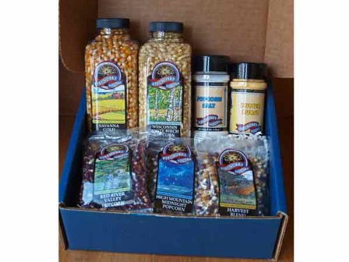 Popcorn Lovers Gift Box (Unique Family Gift Ideas)
