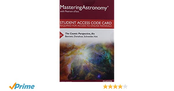 Mastering astronomy with pearson etext standalone access card mastering astronomy with pearson etext standalone access card for the cosmic perspective 8th edition jeffrey o bennett megan o donahue fandeluxe Choice Image