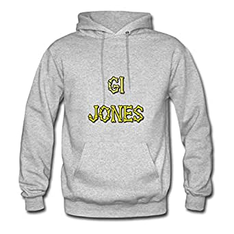 Lynsnyd Grey X-large Style Personality Gi_bones Hoody For Women