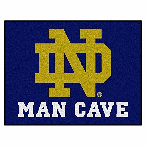 FANMATS 14581 Notre Dame Nylon Universal Man Cave All-Star Mat