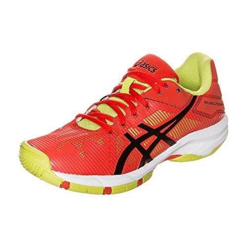 Asics Tennis Shoes Gel-Solution Speed 3 Gs Orange/Black