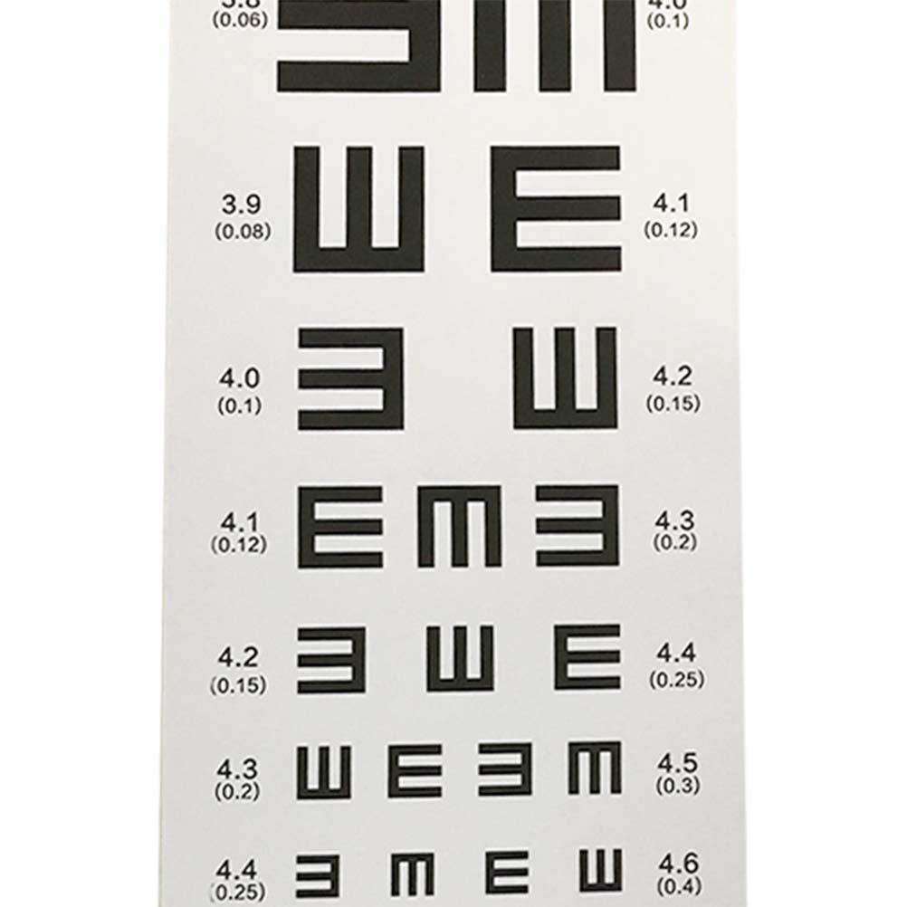 20f2b470744 Amazon.com  Healifty Eye Chart Waterproof Visual Testing Chart  Health    Personal Care