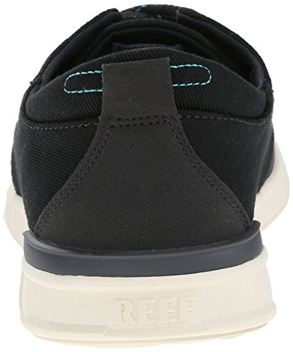 Reef Rover Low, Zapatillas para Hombre Negro (Black)