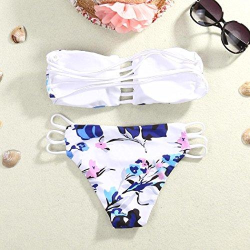 IMJONOFrauen Bikini Set Verband Push Up Padded Bademode Badeanzug ...