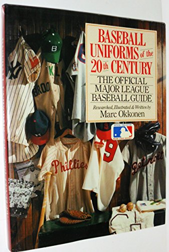 - Baseball Uniforms of The 20th Century: The Official Major League Baseball Guide