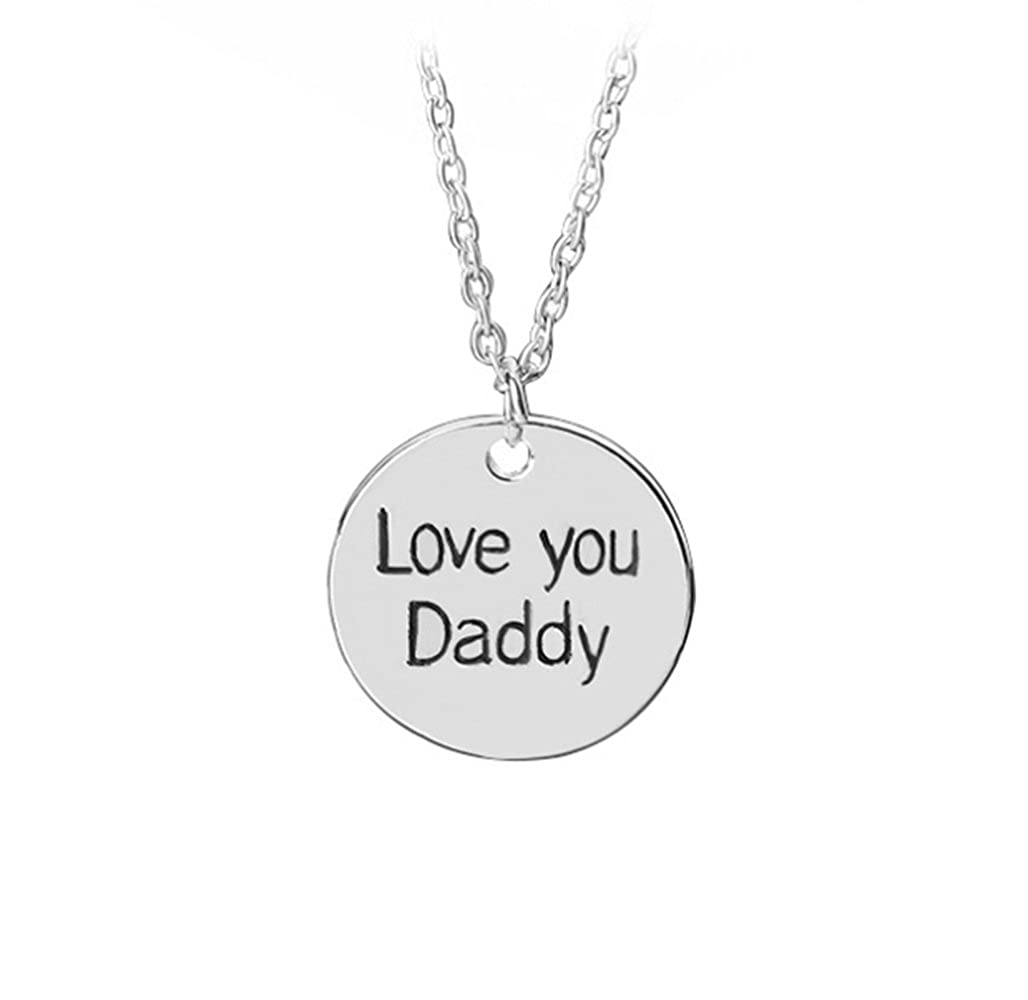 Amazon.com: TEN@NIGHT REGALO PARA DAD- Daddy Cadena Collar ...