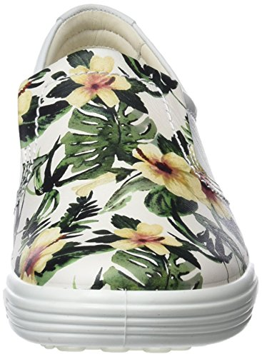 Ginnastica Multicolore Ecco Da Soft Basse Scarpe white Donna Print 7 flower 41xIBqwxWC