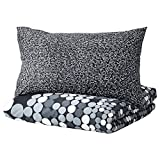 IKEA Smorboll Duvet Cover and Pillowcases, Full/Queen, Gray