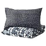 IKEA Smorboll - Funda de edredón y Fundas de Almohada, tamaño Full/Queen, Color Gris