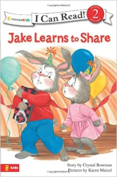 JAKE LEARNS TO SHARE (I Can Read: The Jake Series)