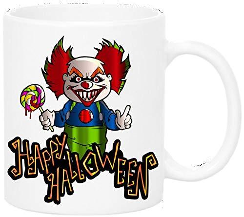 Scary clown Halloween mug gothic horror 11oz coffee mug personalised mug Halloween gift hallween mug haunt gift
