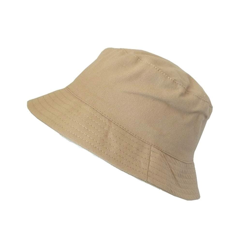 The Hat Company Mens 100/% Cotton Bucket//Bush Sun Hat A146