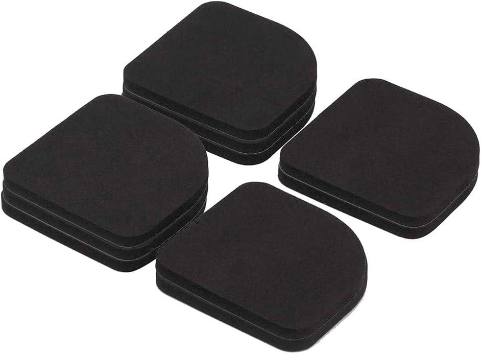 Almohadillas Antivibraciones Colchonetas Antideslizantes absorben los golpesantivibraciones para lavadoras secadoras frigorífico Grande electrodoméstico accesorio