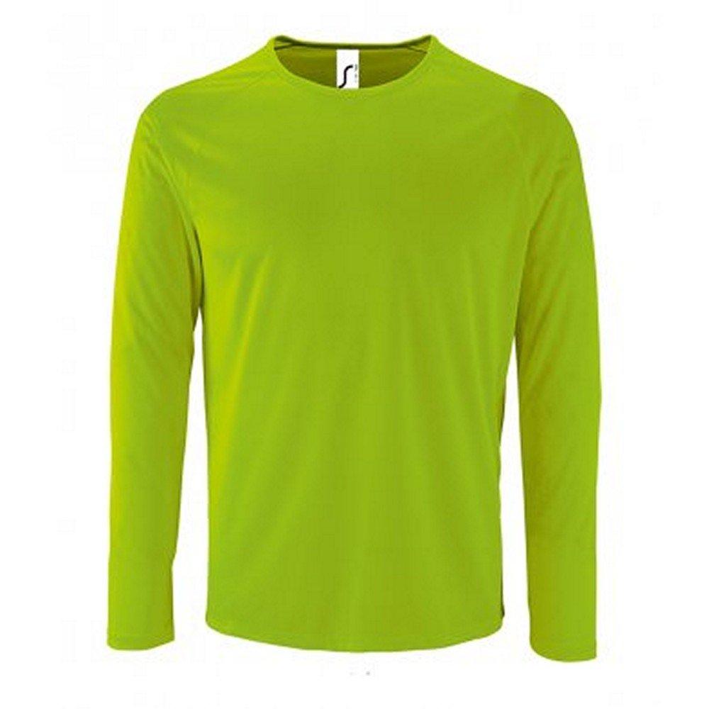SOL'S Mens Sporty Long Sleeve Performance T-Shirt