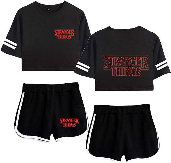 Camiseta y Pantalon Stranger Things, Conjunto Stranger Things ...