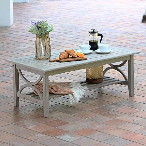 Cambridge Casual Superior Indonesian Teak Chester Patio Coffee Table