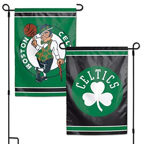 Stockdale Boston Celtics WC Garden Flag Premium 2-Sided Outdoor House Banner Basketball