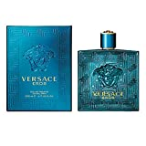 Versace Eros Men Eau De Toilette Spray, 6.7 Fluid Ounce