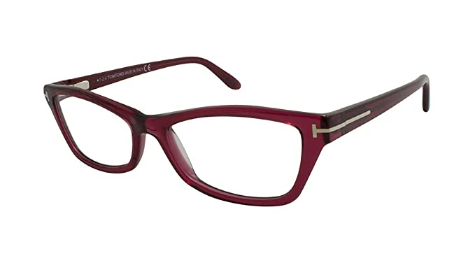 fd613c0ea0a TOM FORD Eyeglasses FT5265 068 Red 53MM at Amazon Men s Clothing ...