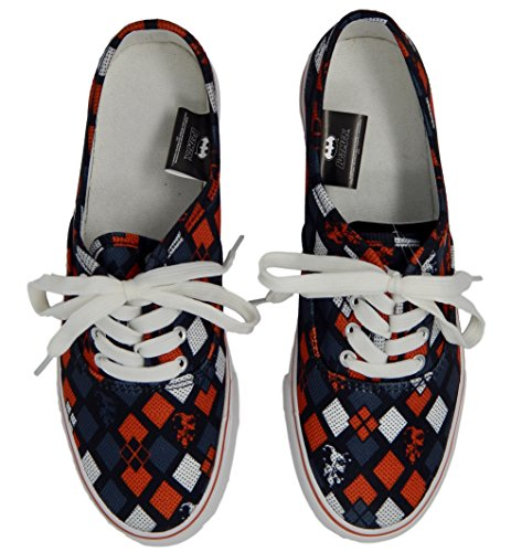 Dc Comics Harley Quinn Lo Pro Zapatos