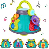 iPlay, iLearn Music Activity Cube, Play Activity Center, Baby Musical Toys, Kids Early Development, Educational Gift for Age 9, 12, 18 Month, 1, 2, 3 Year Old Infants, Toddlers, Girls, Boys